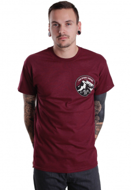 The Ghost Inside - Mountain Maroon - - T-Shirts