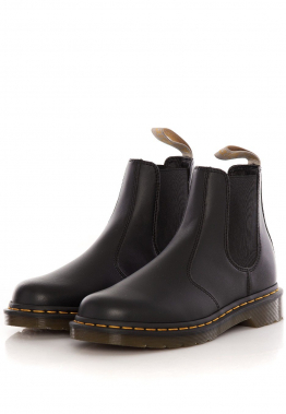 Dr. Martens - Vegan 2976 Chelsea Boots Black Felix Rub Off - Stiefel