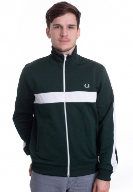 Fred Perry - Contrast Panel Track Ivy - Jacken
