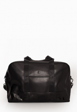 Fred Perry - Embossed Pu Holdall Black - Taschen
