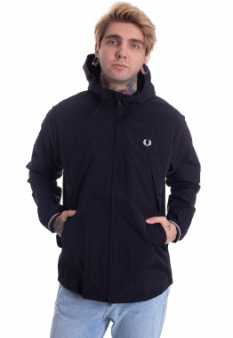 Fred Perry - Panelled Zip Through Black - Jacken