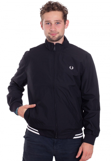 Fred Perry - Twin Tipped Sports Black - Jacken