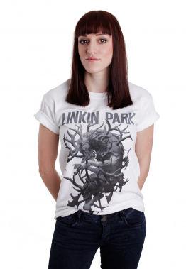 Linkin Park - Antlers White - - T-Shirts
