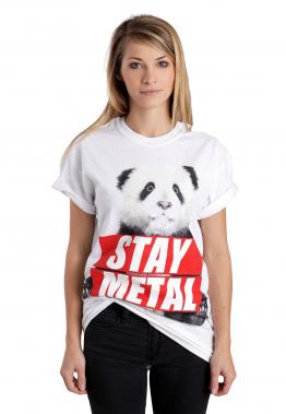 Miss May I - Panda White - - T-Shirts