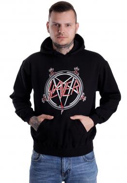 Slayer - Pentagram - Hoodies