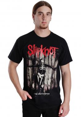 Slipknot - The Gray Chapter Skeleton - - T-Shirts