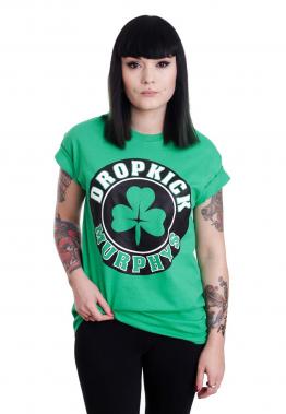 Dropkick Murphys - Shamrock Circle Green - - T-Shirts