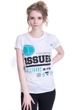 Issues - Roots White - - T-Shirts