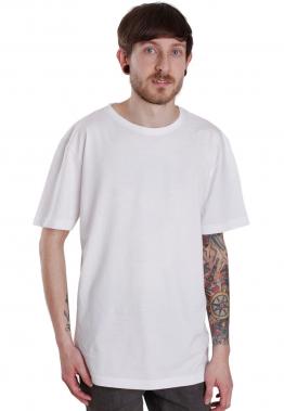 Urban Classics - Shaped Long White - - T-Shirts