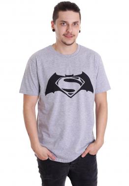 Batman v Superman - Superbatman Grey - - T-Shirts
