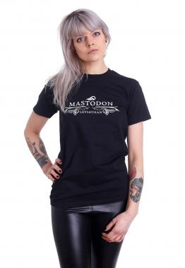 Mastodon - Leviathan Logo - - T-Shirts