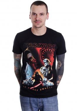 Star Wars - TFA Collage - - T-Shirts