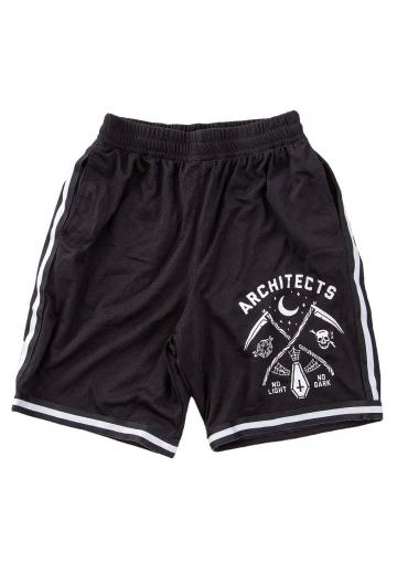 Architects - No Light Striped Zip - Shorts