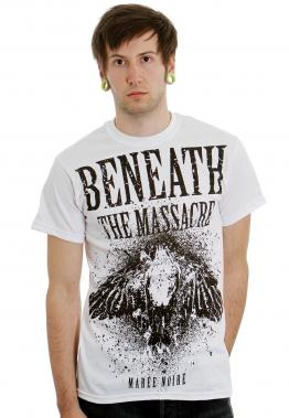 Beneath The Massacre - Maree Noire White - - T-Shirts