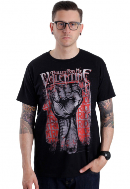 Bullet For My Valentine - Riot - - T-Shirts