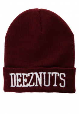 Deez Nuts - Logo Premium Burgundy - Beanies