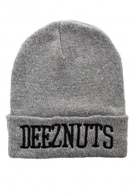 Deez Nuts - Logo Premium Heather Grey - Beanies