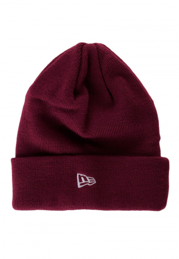 New Era - Original Basic Cuff Knit Cardinal - Beanies