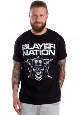 Slayer - Slayer Nation - - T-Shirts