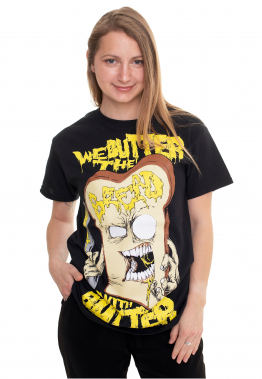 We Butter The Bread With Butter - Schnitte - - T-Shirts